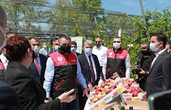 Tarım ve Orman Bakanı Bekir Pakdemirli'den Anadolu Etap'ın Balıkesir Çiftliğine Ziyaret