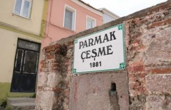 """140 yıldır aynı sokakta """"Parmak Çeşme"""""""