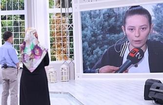 Esra Erol 18 yaşındaki genç kızı yayına çıkmadan buldu