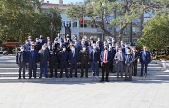 19 Ekim Muhtarlar Günü Burhaniye'de kutlandı.