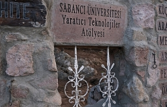 """Küçükköy girişine yapılan """"Sanat Duvarı""""nın inşası tamamlandı"""