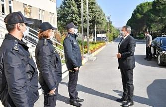 Vali Şıldak, yeni atanan müdürleri ziyaret etti