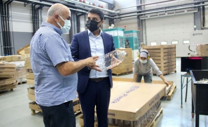 Ünsal, iş insanları ziyaretini sürdürüyor: Oba Plastik'i ziyaret etti
