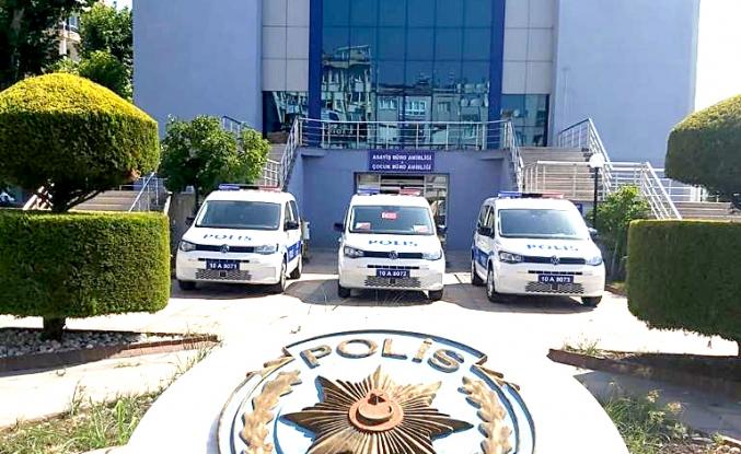 Edremit'te polis suç ve suçlulara göz açtırmıyor