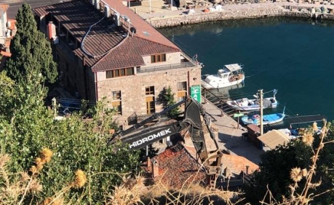 Assos Antik Limanı'nda  katliam devam ediyor