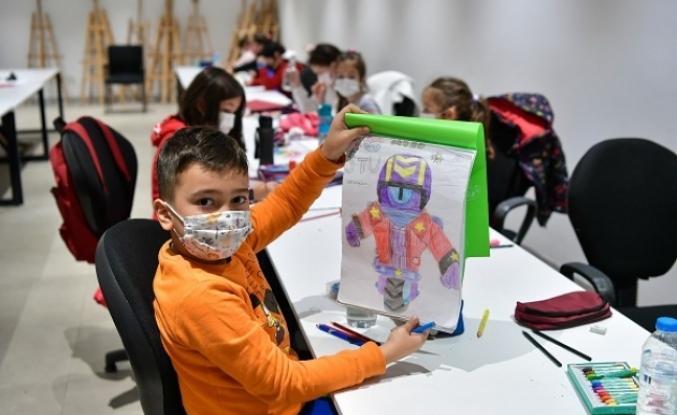 KÜLTÜRSEM Kültür ve Sanat Kursları'nda eğitimler başladı